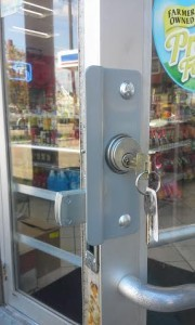 Commercial mortise lock installtion