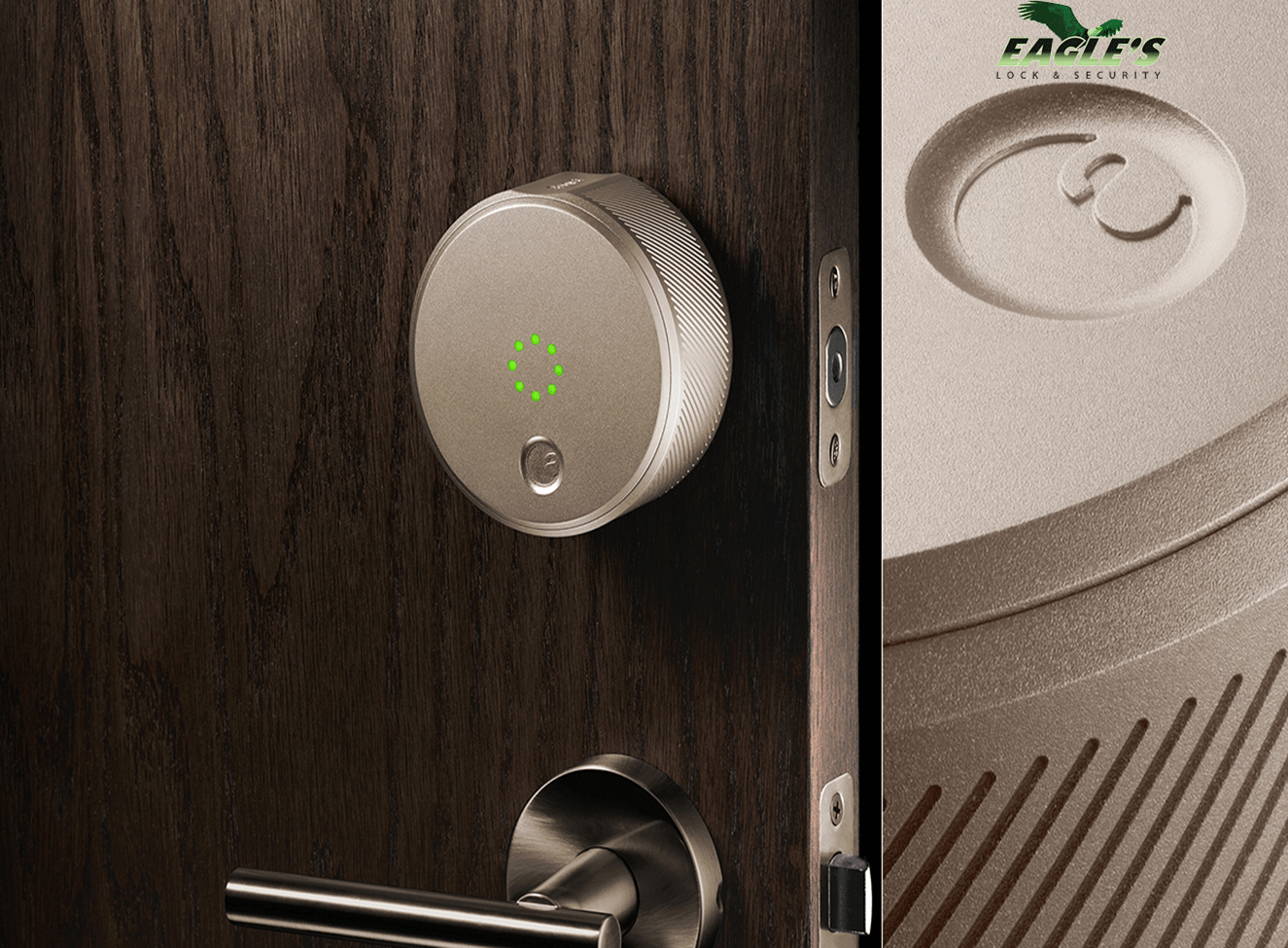 Smart Locks For Residential provided by Eagle's Locksmith Cincinnati